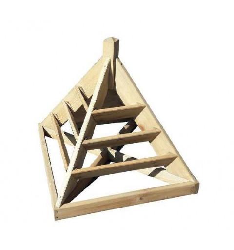Bac à fleur Pyramide à...