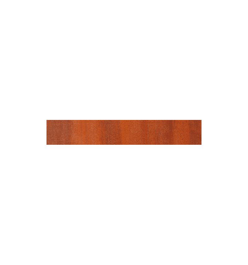 Poteaux de finition sapin traité teinté brun pour pose à plat MOKA
