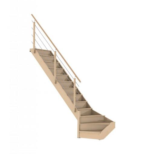 Escalier en kit NOVAH 1/4...