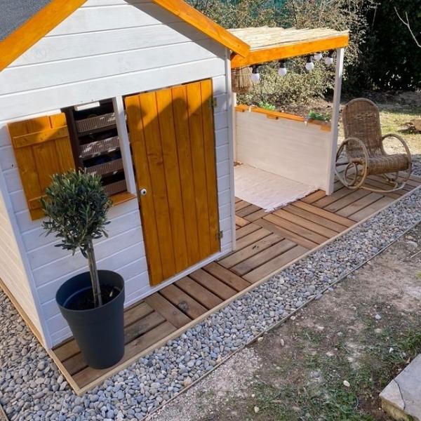 Cabane Alpaga personnalisée par @marjoriiiiiiiiiiiiiie